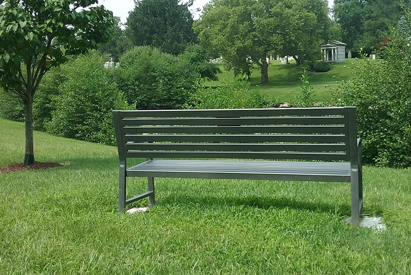 woodlawn donor page bench photo